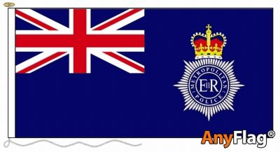 METROPOLITAN POLICE ENSIGN  ANYFLAG RANGE - VARIOUS SIZES